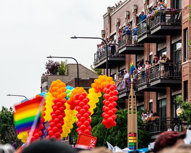 Chicago Pride Parade, 2019.