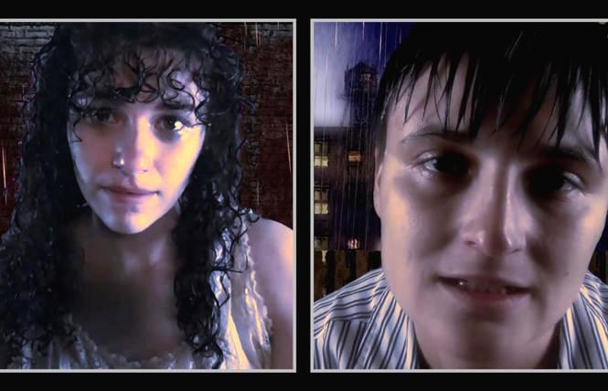 Left to right: Elena Faverio (Rivkeleh) and Zissel Piazza (Mankeh) in 'God of Vengeance.'