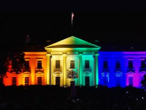 Melania Wanted to Light White House in Rainbow Colors, President's Staff Overruled
