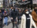 Hundreds of Theater Workers Demand Change in Times Square